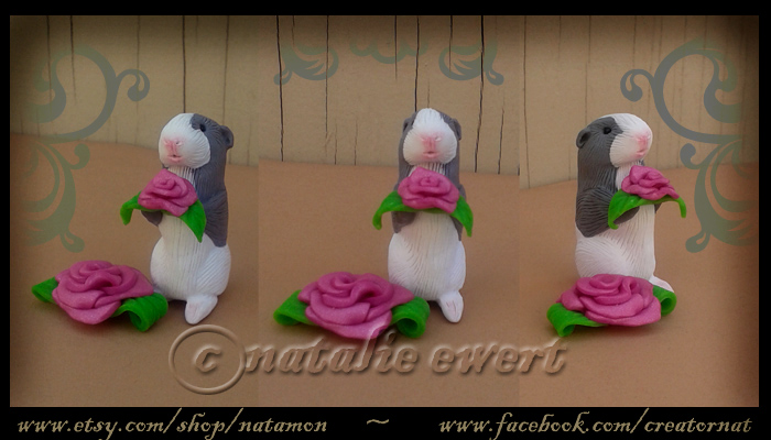 Rosey The Miniature Guinea Pig by natamon