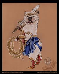 Wonder Woman Bulldog