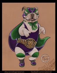 Luchadora Bulldog