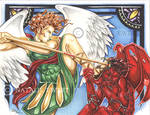 St. Michael Slays The Evil One