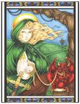 St. Dymphna Icon