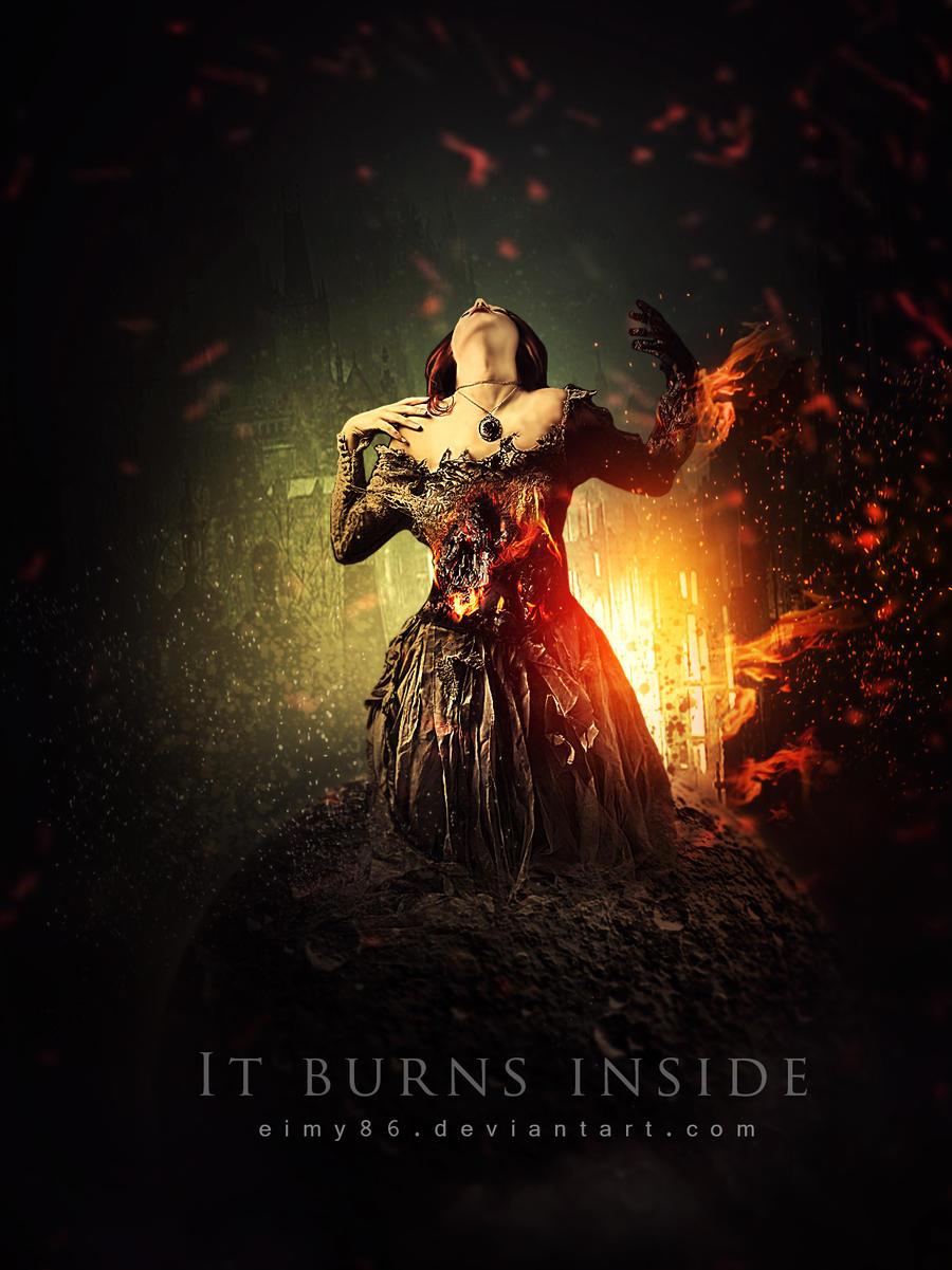 It burns inside by emanrabiah