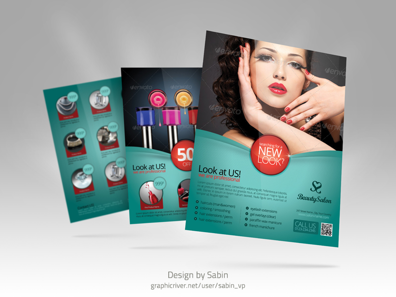 product promotion flyer template multipurpose by valentinpl on