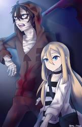 Ray and Zack (Satsuriku no Tenshi)+ SPEEDPAINT by mksmDebbie