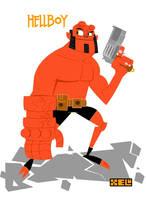 Hellboy by Astroguaje