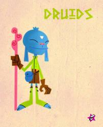 Druids by Astroguaje