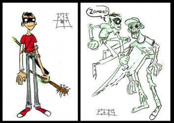 Zombie by Astroguaje