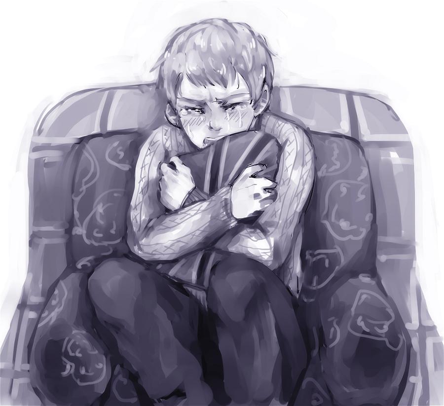 SH: '..so alone.' by bone-kun