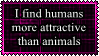 Humans are more attractive by Cat-Reaper