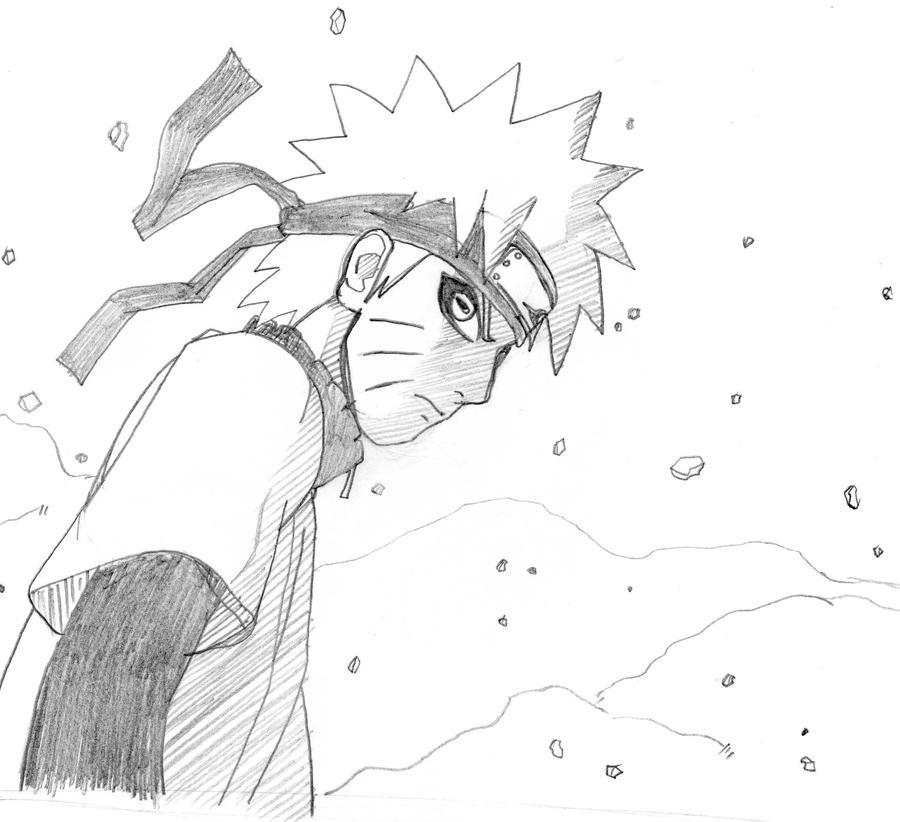 Naruto Sage Mode Drawings