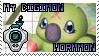 DGMN-Wormmon Stamp by rosa-pegasus