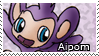 PKMN-Aipom Stamp 2 by rosa-pegasus