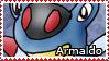 PKMN-Armaldo Stamp by rosa-pegasus