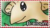 PKMN-Breloom Stamp by rosa-pegasus