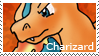 PKMN-Charizard Stamp by rosa-pegasus