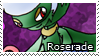 PKMN-Roserade Stamp by rosa-pegasus