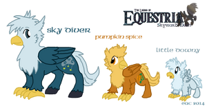 MLP-SD Hippogriff Siblings