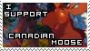 Canadian Moose Support Stamp