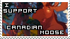 Canadian Moose Support Stamp by rosa-pegasus