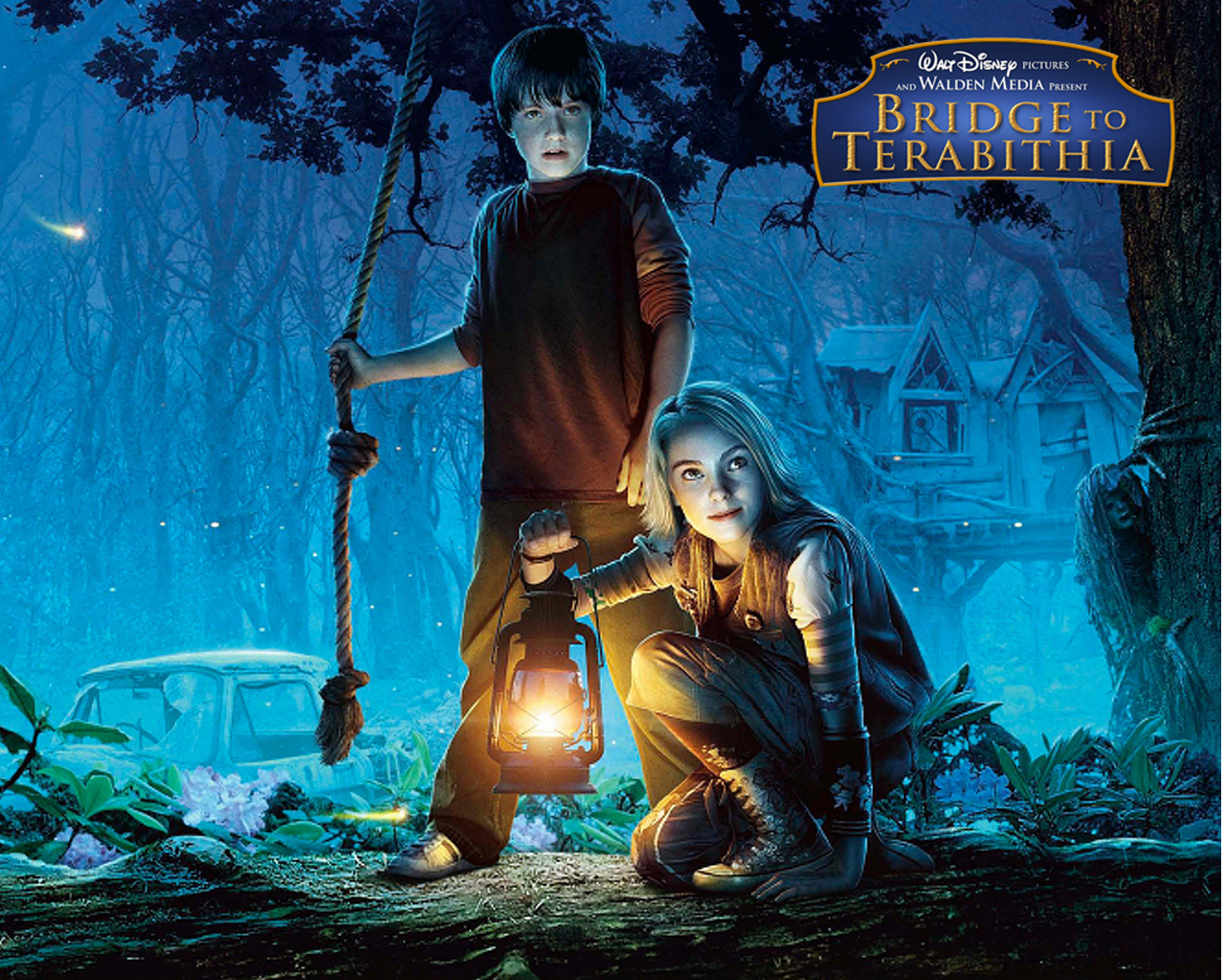 Bridge to Terabithia Castle Wallpaper Bridge to Terabithia