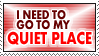 Quiet Place Stamp by Ryugexu