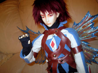 BJD: Kratos Judgement Outfit by Ryugexu