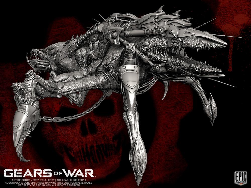 Gears Of War Locust Seeder By Yemyam On Deviantart