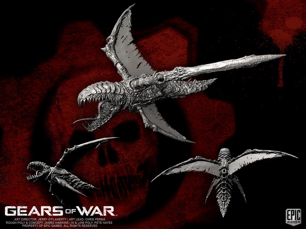 Gears Of War Locust Kryll By Yemyam On Deviantart