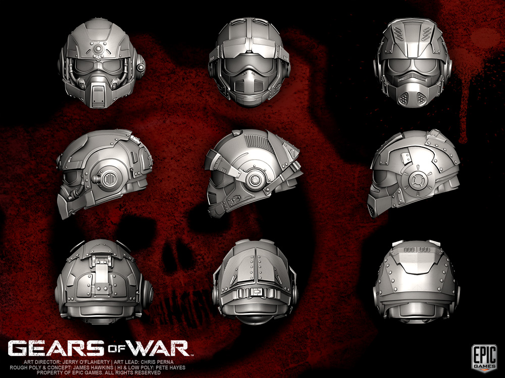 drone gears of war with Gears Of War Cog Helmets 265657564 on 12736 likewise Gears Of War COG Helmets 265657564 moreover 2507653386 further 561411 besides Savage Boomer.
