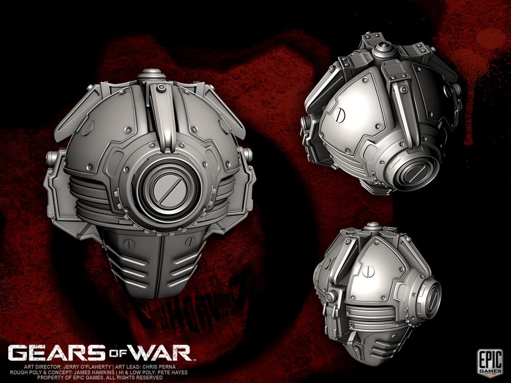 Gears Of War Cog Geobot By Yemyam On Deviantart