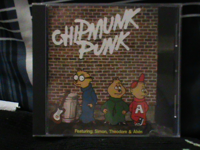 Chipmunk Punk CD!!! by TheodoreSeville85
