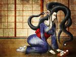 Futakuchi-onna by Arithusa