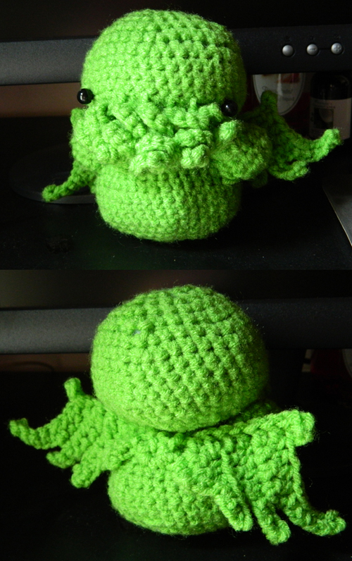 Tiny Cthulhu Crochet By Arithusa On Deviantart