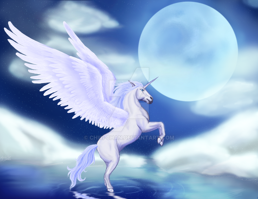 Request: Winged Unicorn by chiri-chan on DeviantArt