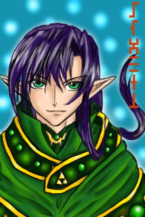 Zelda RP: Satoru the mage by chiri-chan