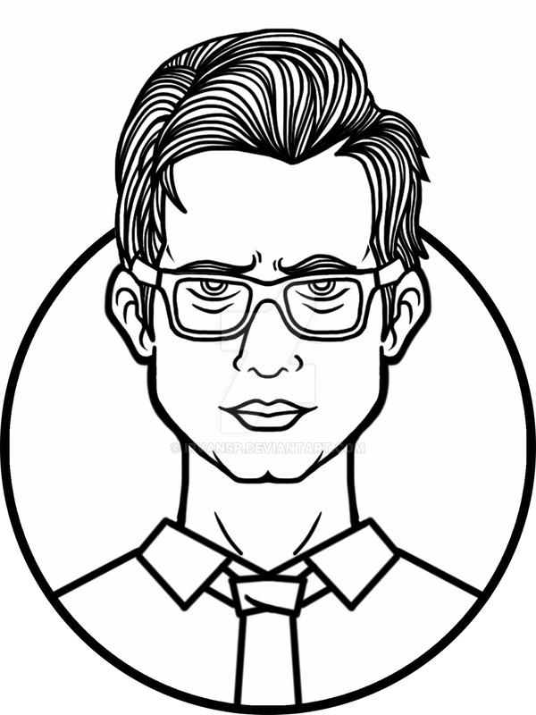 Brendon Urie Drawing Sketch Coloring Page