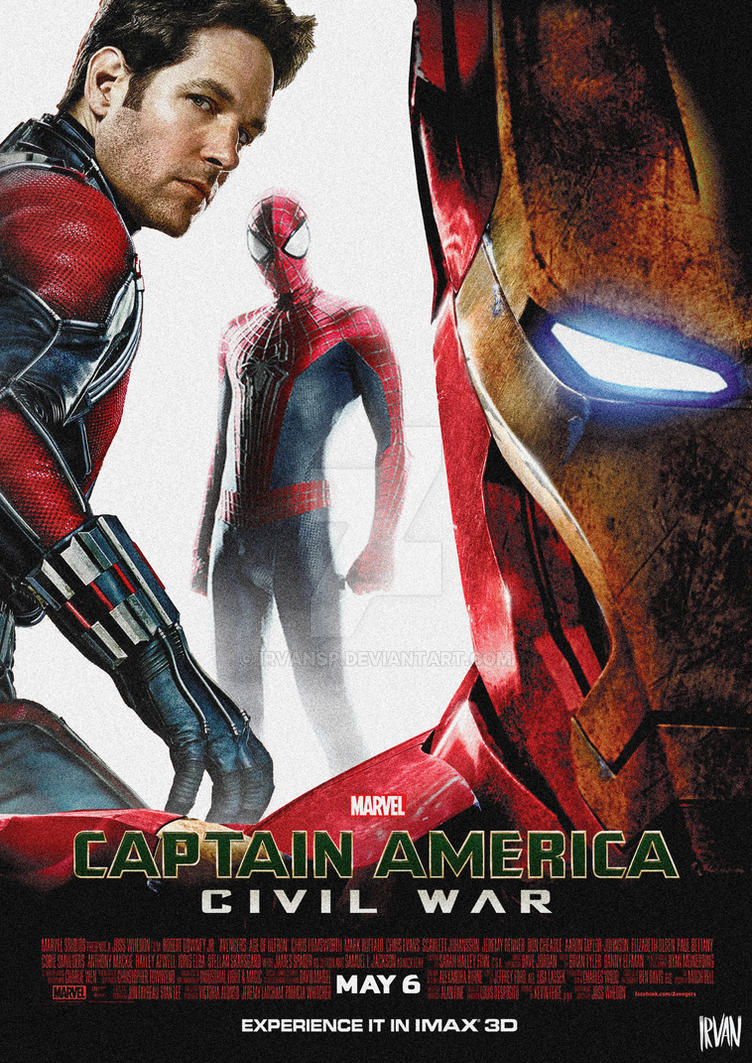 CAPTAIN AMERICA CIVIL WAR Fanmade Poster by irvansp on ...