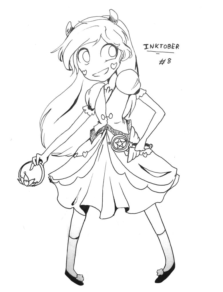 Inktober DAY 8 PRINCESS OF MEWNI by pika-chan2000 on DeviantArt
