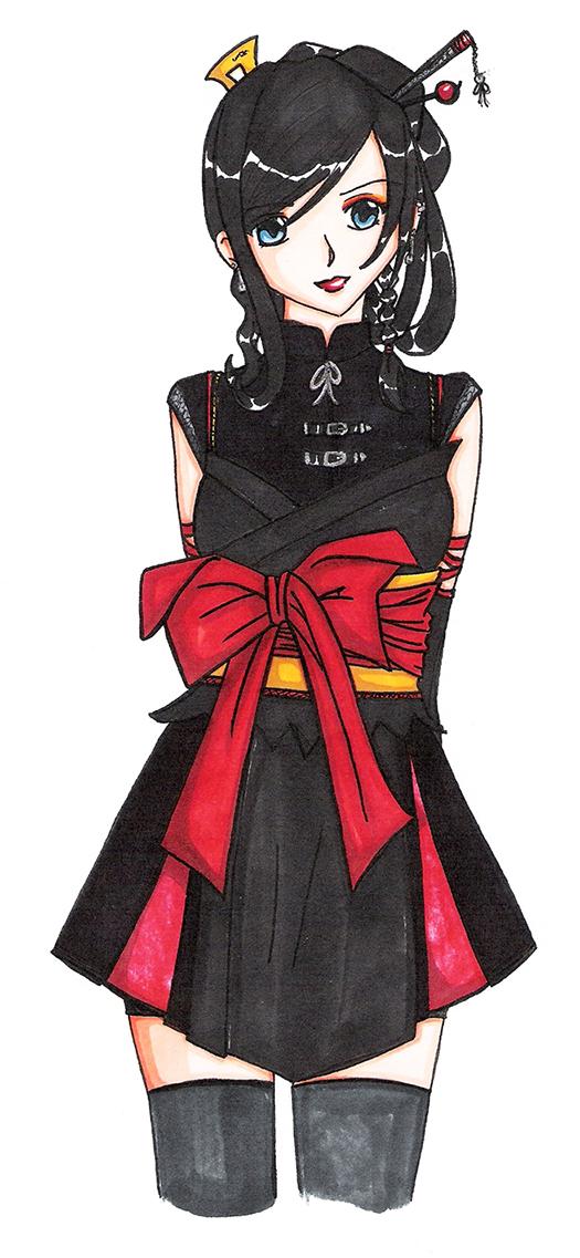Garo - Fujiwara Rina by AkaneCeles