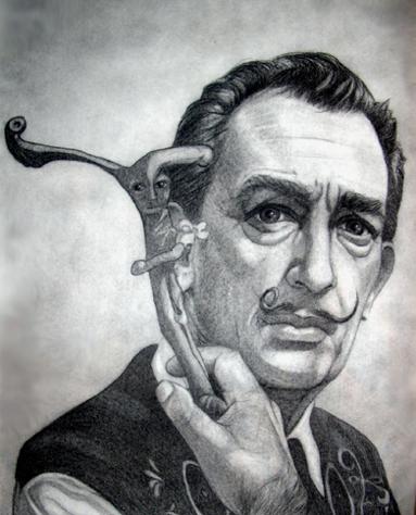 Salvador Dali by number9design