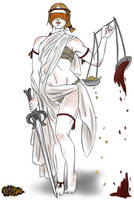 Lady Justice by minktee
