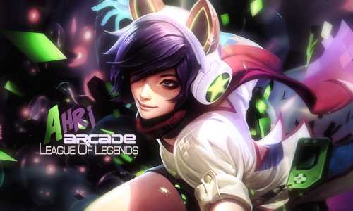 Ahri League of Legends by vtileti