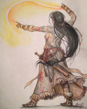 Sorceress sketch