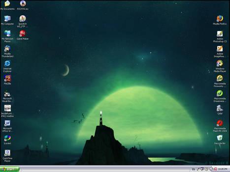 My second desktop shot