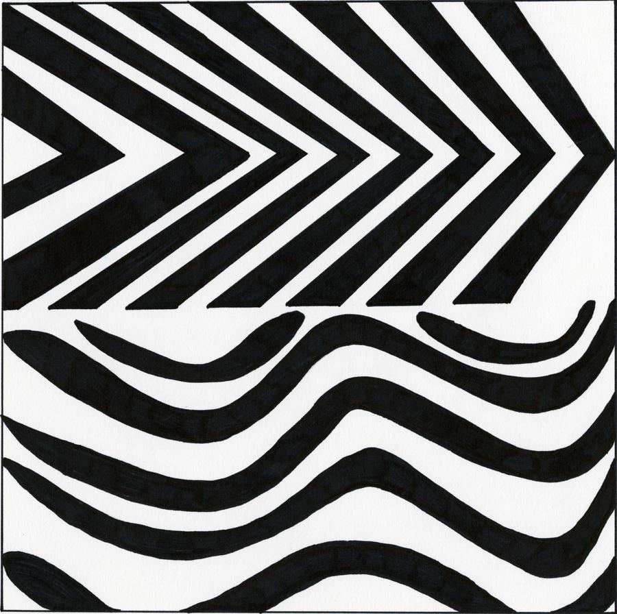 Dualing Rhythms - Line Drawing by jredwolf on DeviantArt