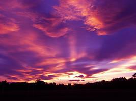 christchurch sunset by lindsaypitbull