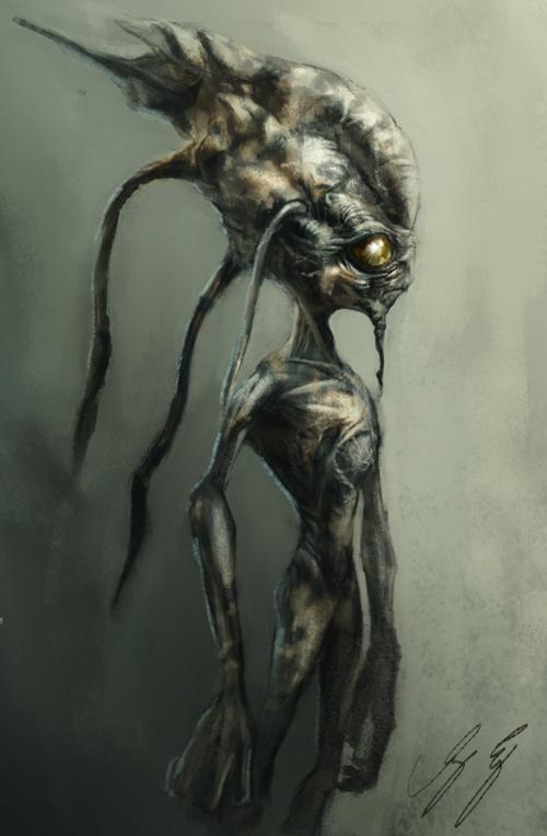 Alien Boy Design by vshen