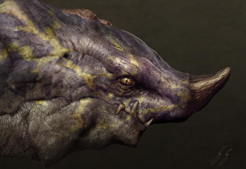 Dragon Head by vshen