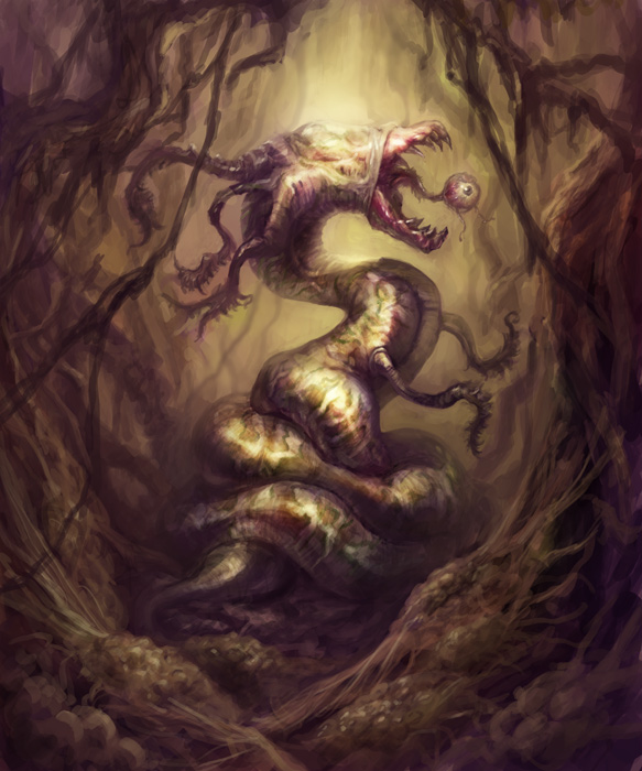 Slug Creature by vshen