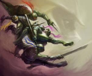 Ninja Turtles by vshen